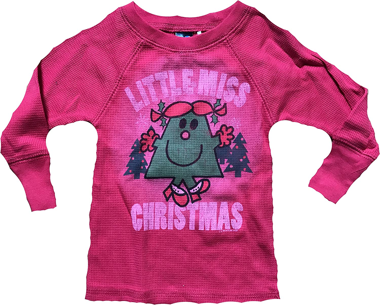 Junk Food Little Miss Christmas Infant Thermal Shirt