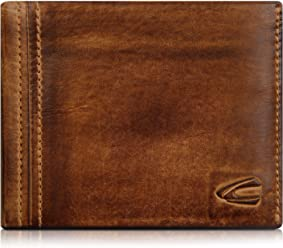 17ac44df664 Camel Active Leather Wallet for Men, Purse for Women, Briefcase, Brown