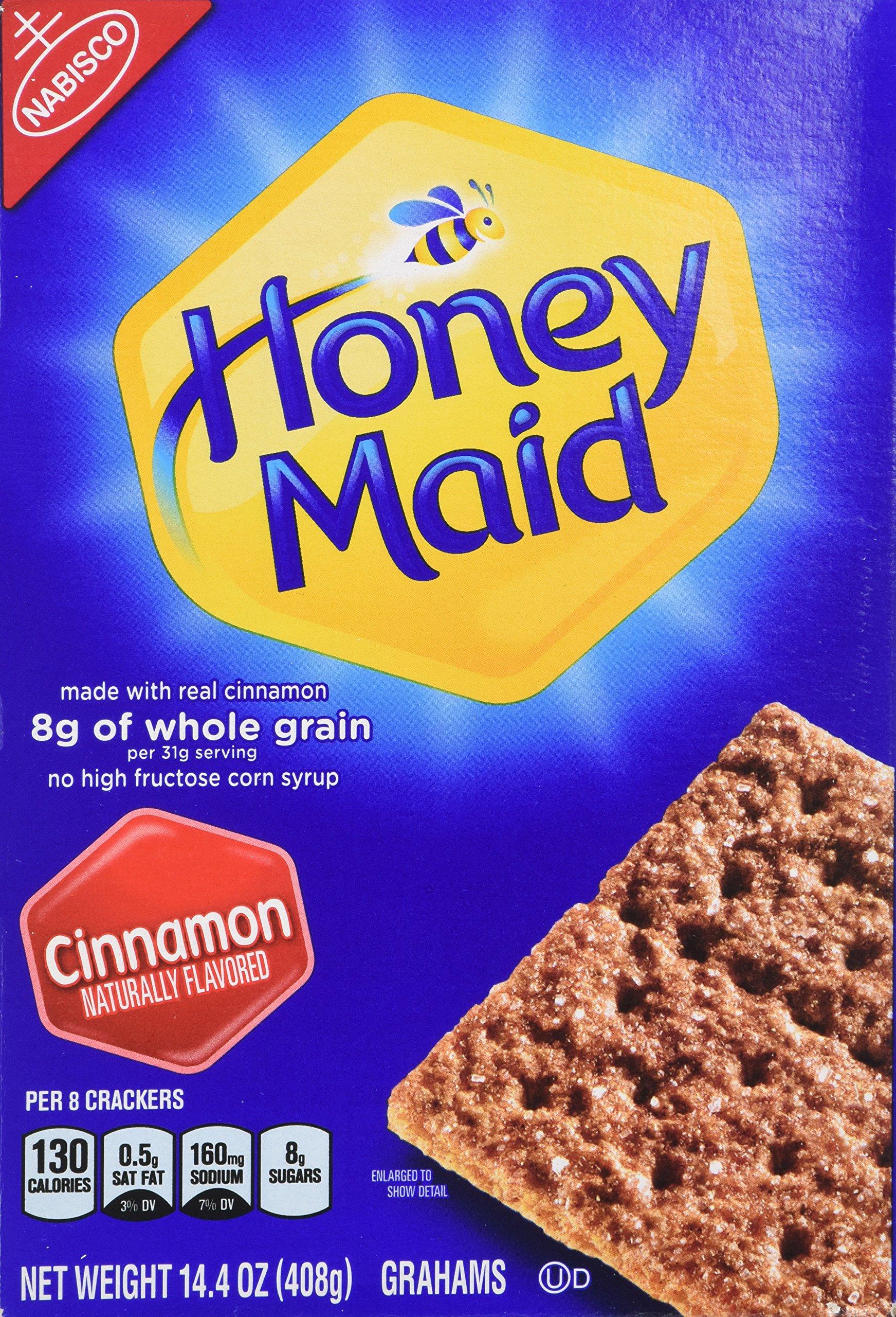 Amazon Com Honey Maid Chocolate Graham Crackers 14 4 Oz