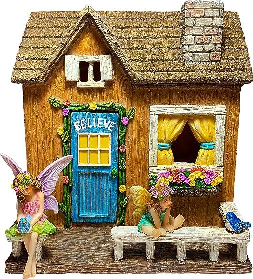 Mood Lab Fairy Garden House Miniature Believe House Kit