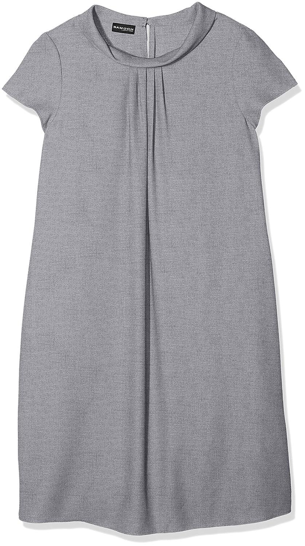 SAMOON Damen Kleid Cowl Neck