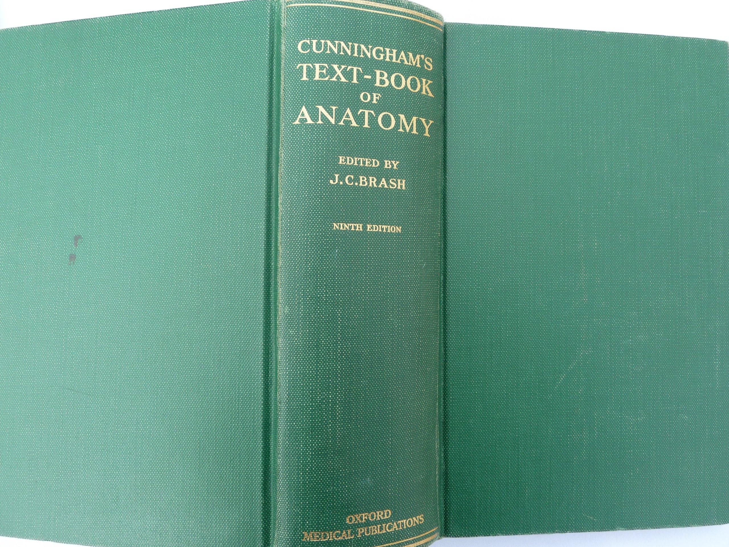 Cunningham Anatomy Book