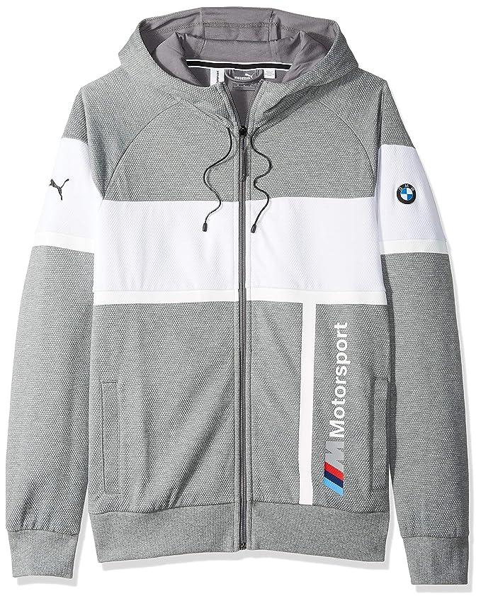 Amazon.com: PUMA BMW Motorsport - Chaqueta con capucha para ...