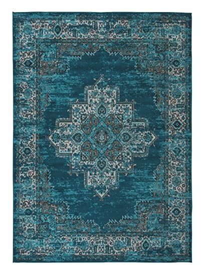 Amazon Com Ashley Furniture Signature Design Moore Area Rug 8