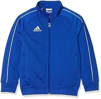 Adidas CV3578 Chaqueta, Unisex Niños, (Azul Claro/Blanco), 116 (5/6 años): Amazon.es: Deportes y aire libre