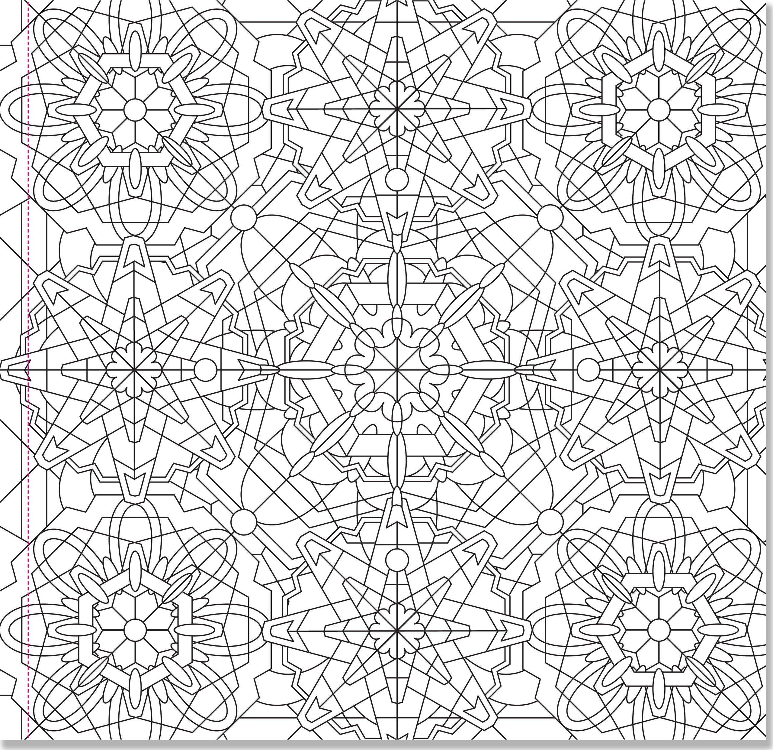 amazon com kaleidoscope designs adult coloring book 31 stress