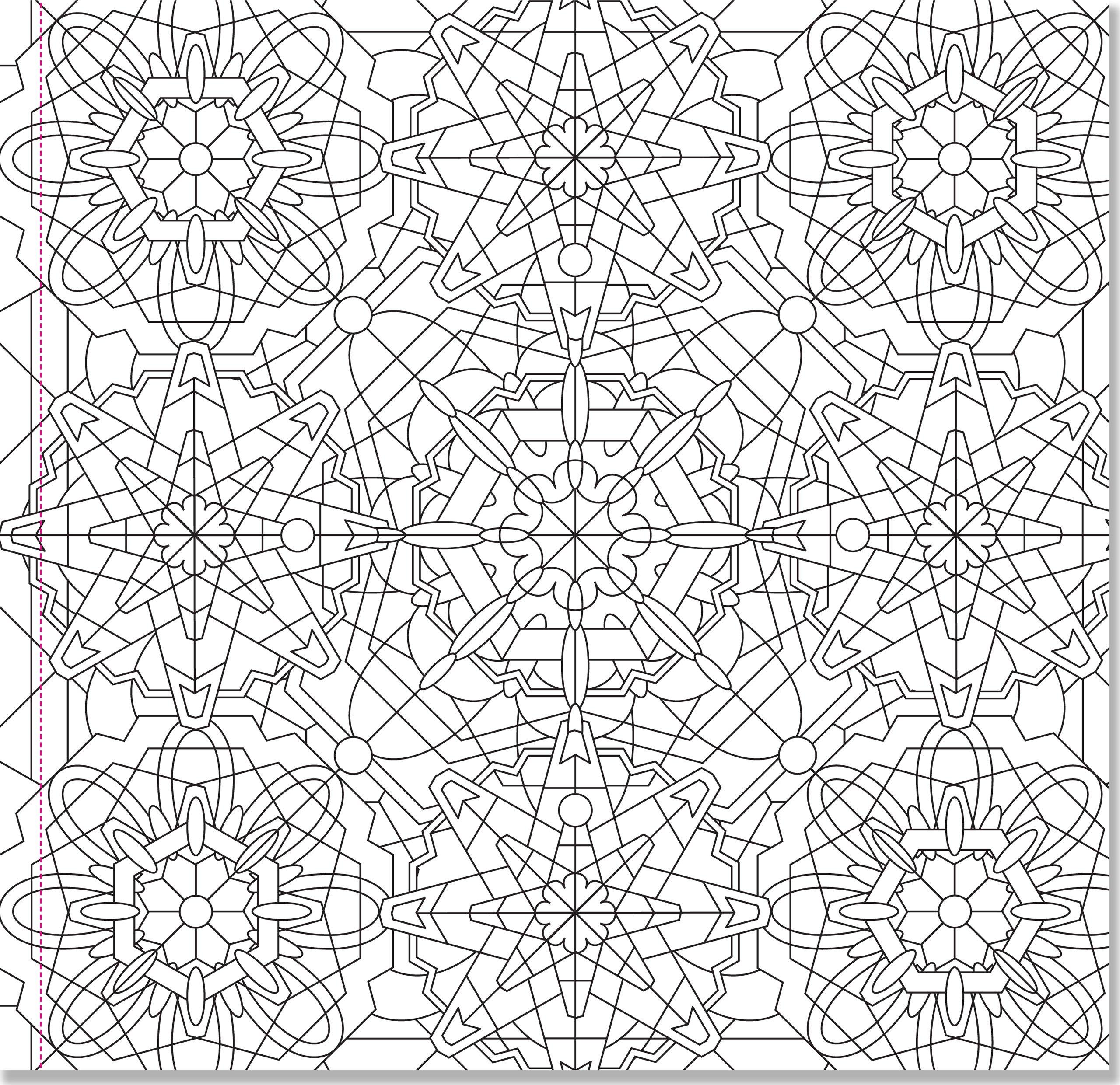 Amazon Kaleidoscope Designs Adult Coloring Book 31 Stress Relieving Studio 9781441318398 Peter Pauper Press Books