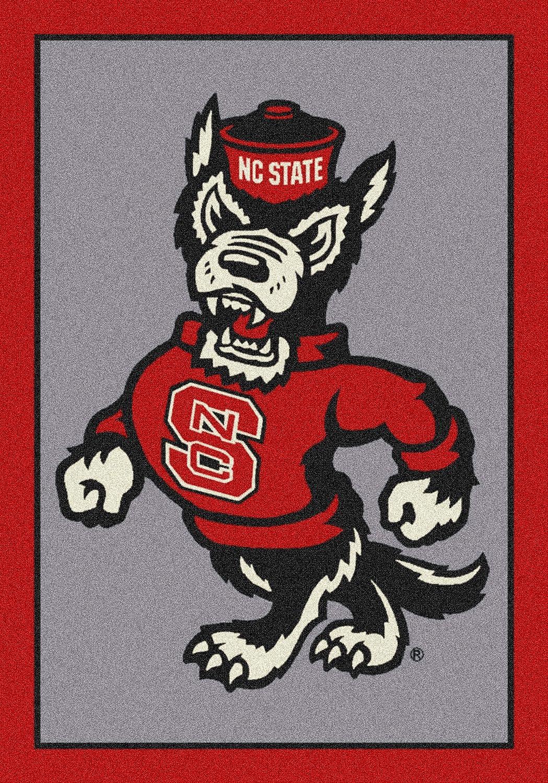 North Carolina State Wolfpack NCAA College Team Spiritチームエリアラグ 7'8\  B00UW61Q14