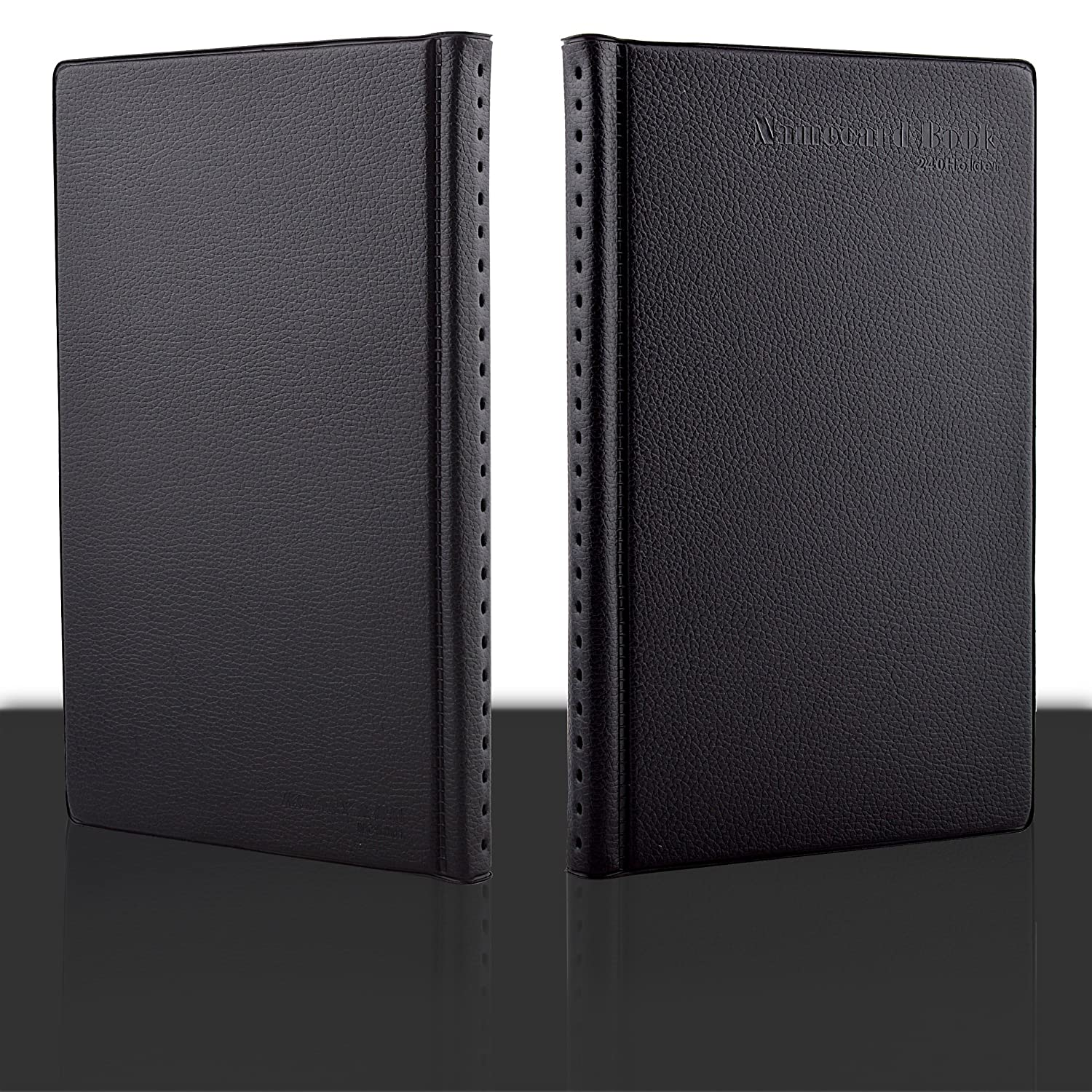 maxgear professional pu leather business card book