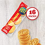 RITZ Cheese Sandwich Crackers, Family Size, 16