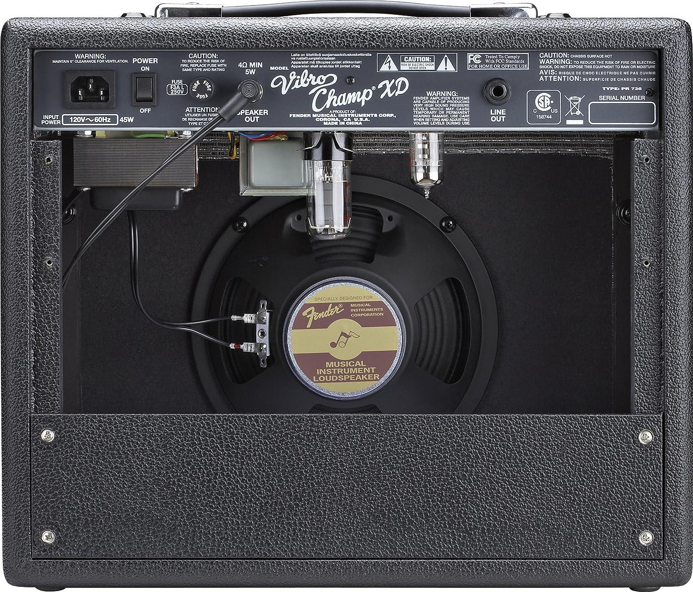 Amplificador de guitarra eléctrica Fender Vibro Champ XD: Amazon.es: Instrumentos musicales