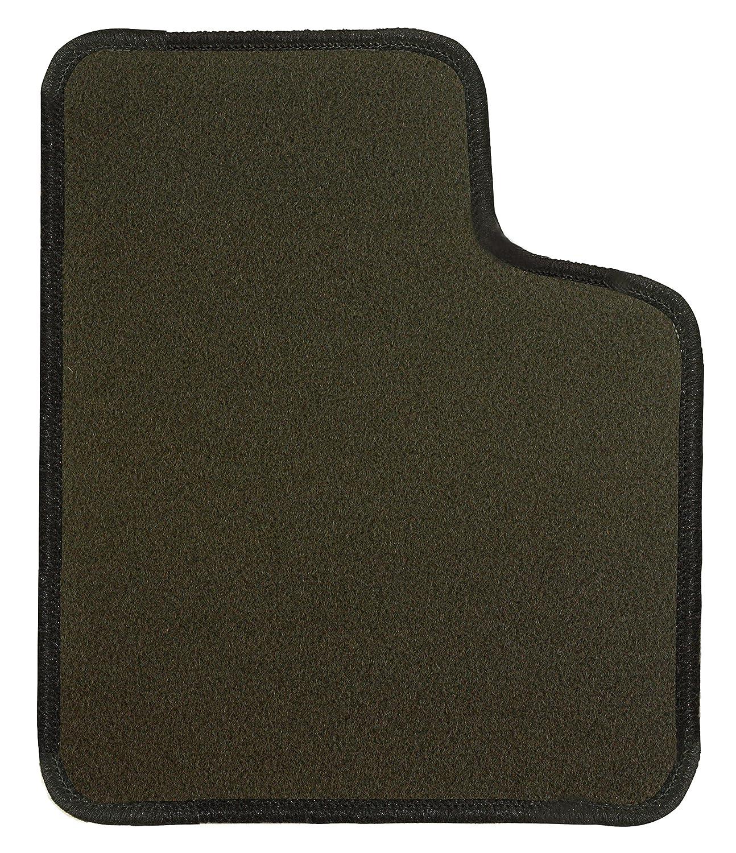 CaTex 36300550600GN Classic Tapis de Sol sur Mesure, Gris/Noir, Set de 4