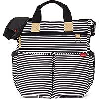 Skip Hop Change Bag Duo Signature Black and White Stripe