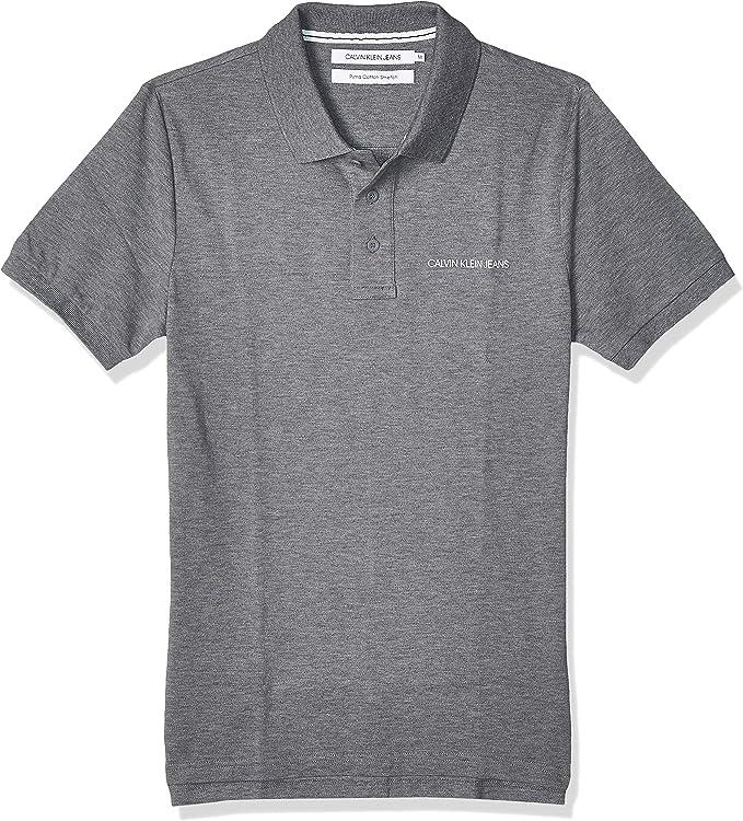 Calvin Klein Stretch Institutional Polo Slim Camisa para Hombre: Amazon.es: Ropa y accesorios