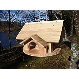 Mangeoires oiseaux, maison oiseaux, villa oiseaux, cabane oiseaux, couleur nature, LIVRAISON OFFERTE