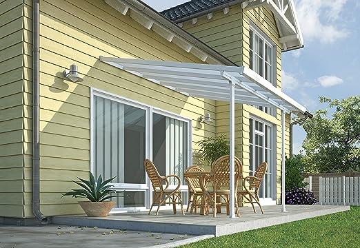 Chalet-Jardin Terraza de Aluminio Techo Aurora Blanco 3 x 3 m, 3x3 ...