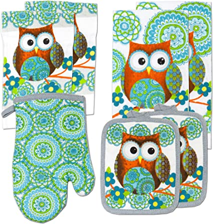 Oven Mitts and Dish Cloth Sets