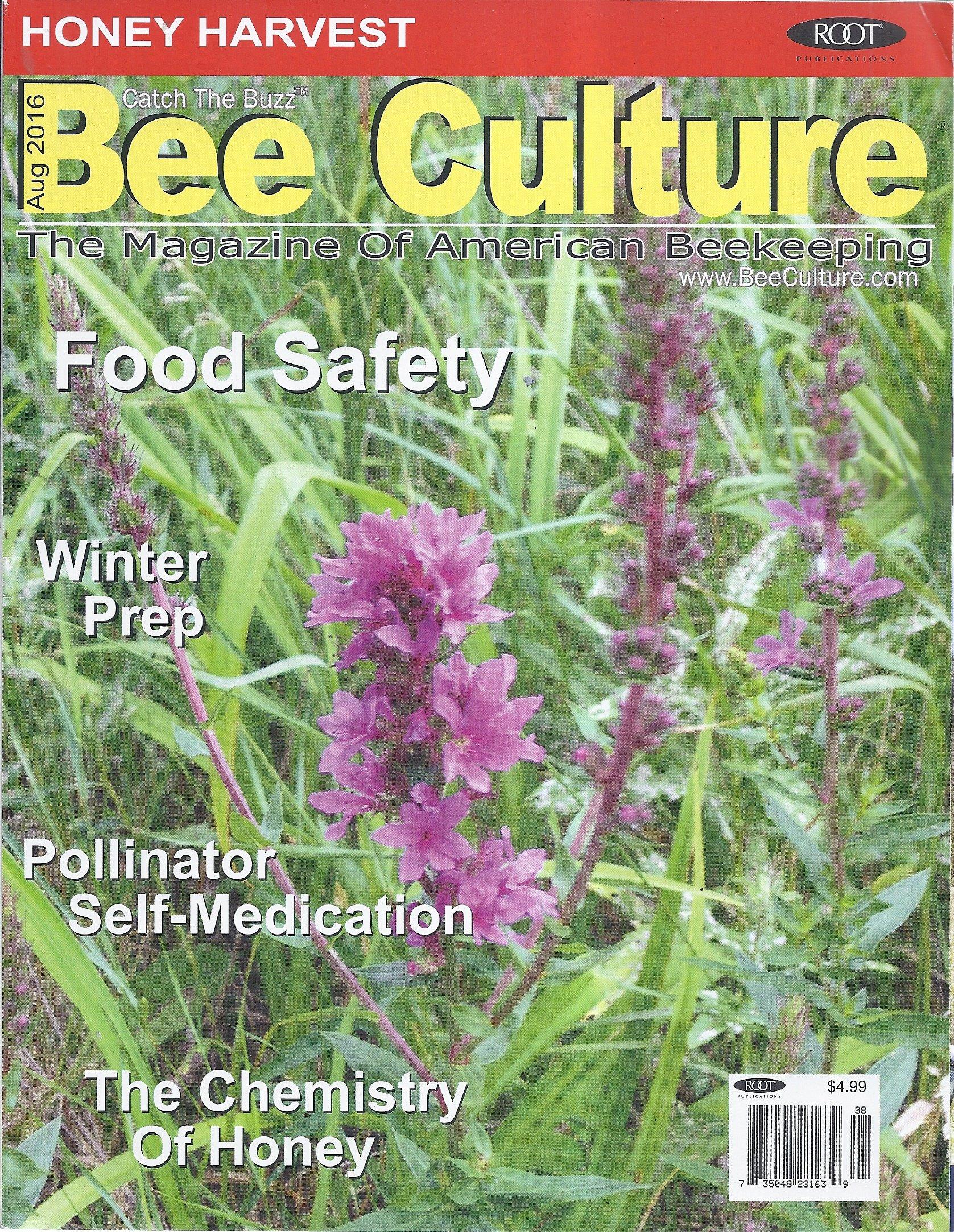 Read Online Bee Culture Magazine (August 2016) ebook