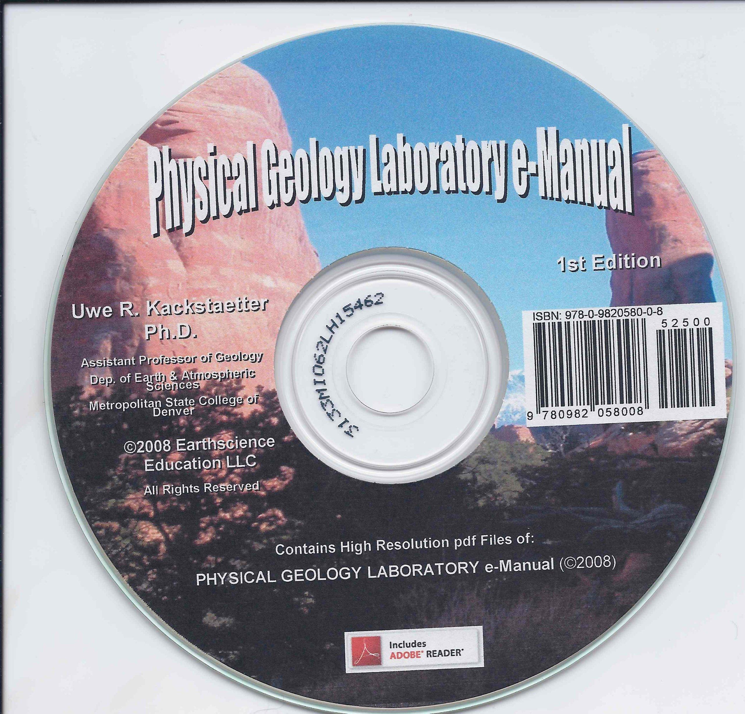 Physical Geology Laboratory e-Manual: Uwe Richard Kackstaetter, Ph.D., Uwe  Kackstaetter: 9780982058008: Amazon.com: Books