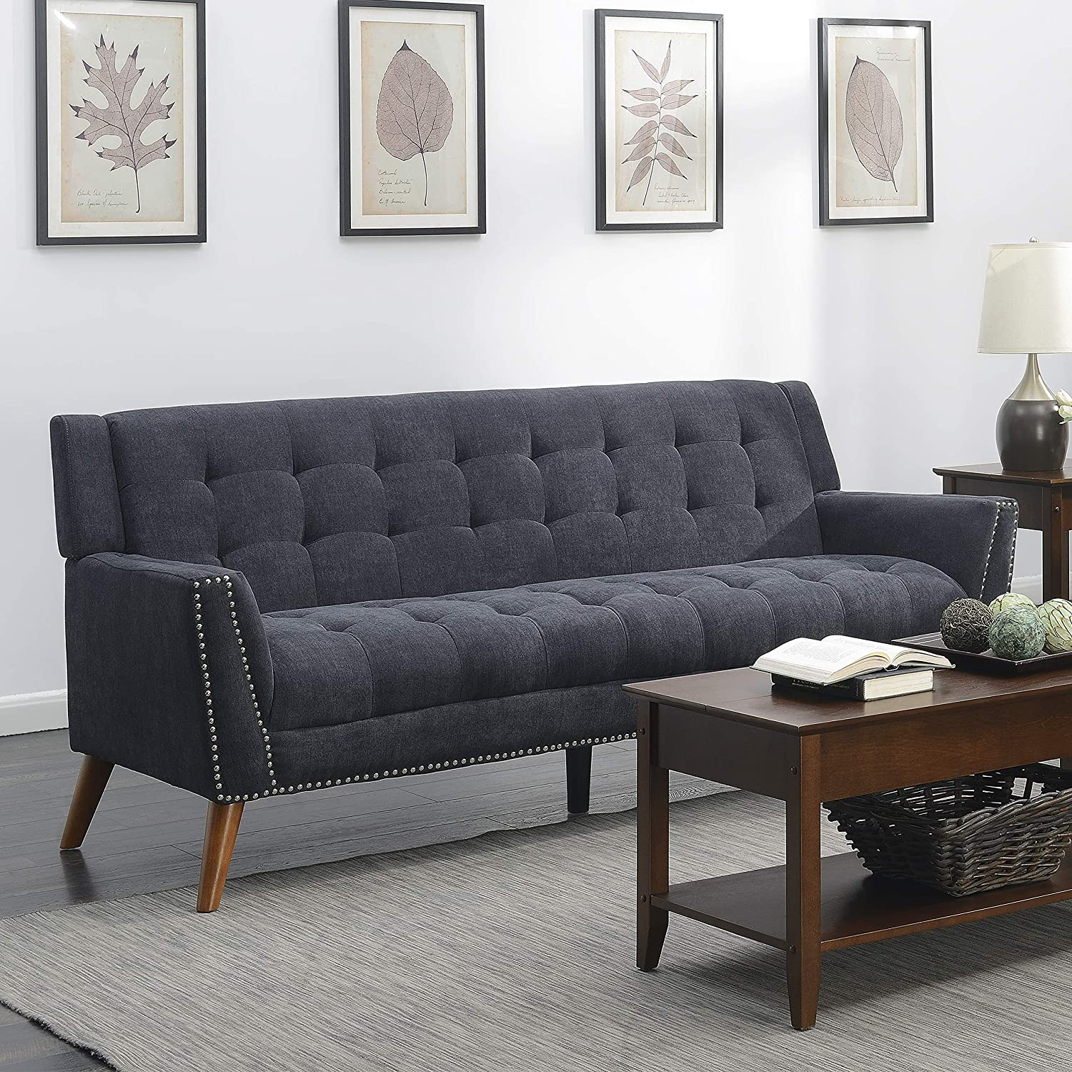 Amazon.com: Christies Home Living Kendall Colletion Tufted ...