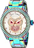 Betsey Johnson Women's Quartz Stainless Steel Casual WatchMulti Color (Model: BJ00019-73)