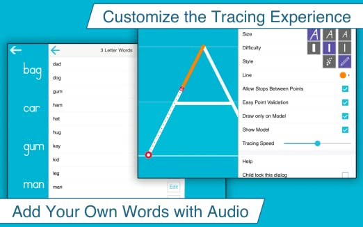 Amazon.com: Writing Wizard - Kids Learn to Trace Letters & Words ...
