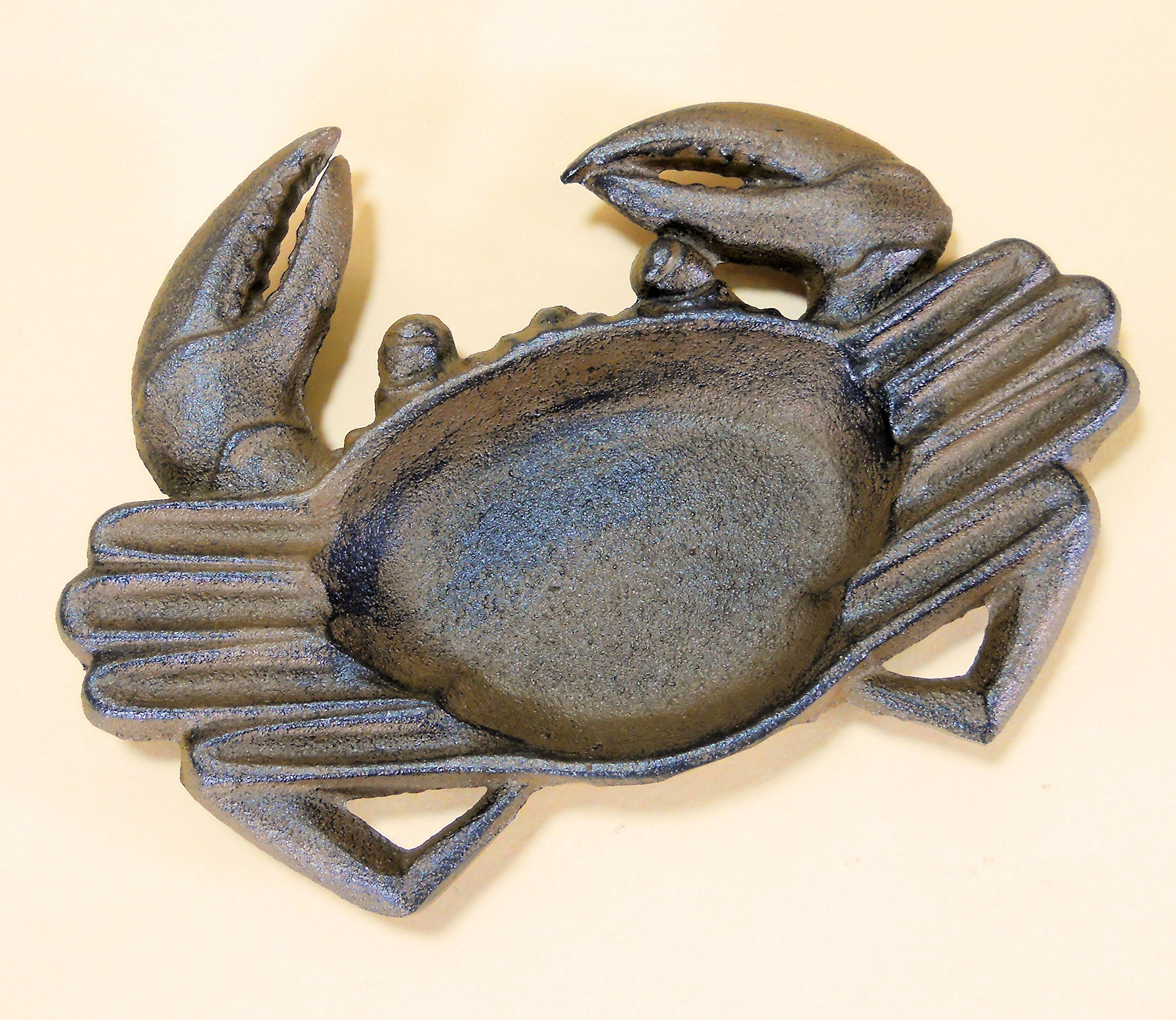 Nautical Crab Ashtray Cast Iron for Cigars and Cigarettes