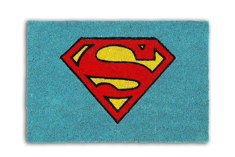 Excelsa Superman Zerbino, Fibra di Cocco, Azzurro, 40x60x1.5 cm Bergamaschi & Vimercati SpA 62464