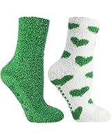 Minx NY Womens Fleece 2PK Slipper Socks