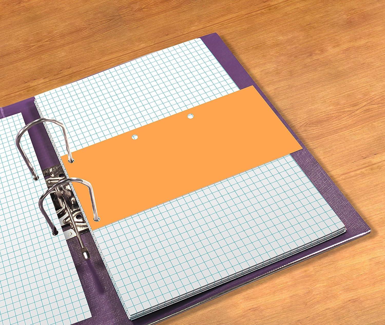 Azul marcadores de p/ágina 24 cm, 10,5 cm Elba 240x105 mm