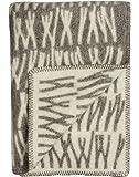 Roros Tweed Designer 100% Norwegian Wool Throw Blanket in Many Patterns (Naturpledd in Knytte)