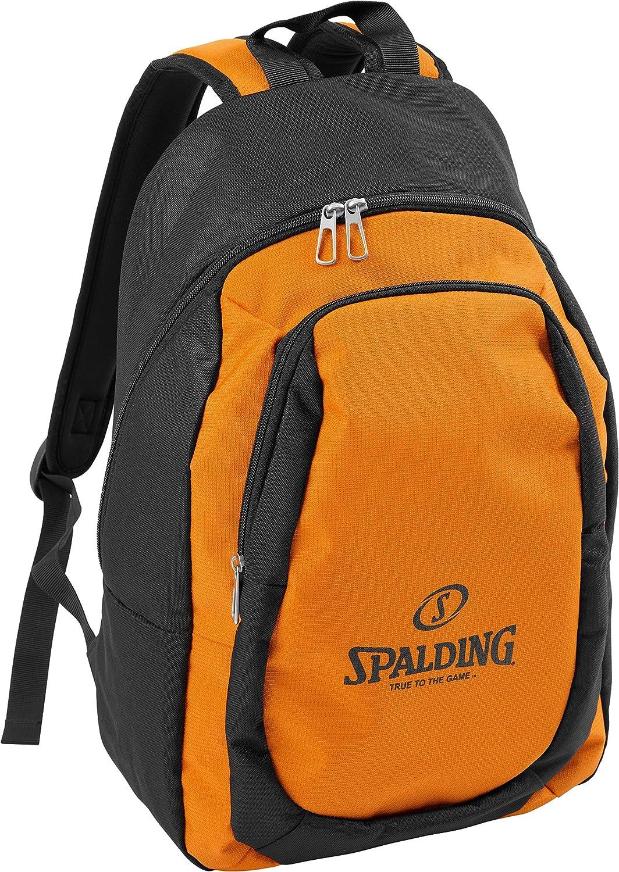 Spalding Essential Mochila, Unisex niños, (Naranja/Negro ...