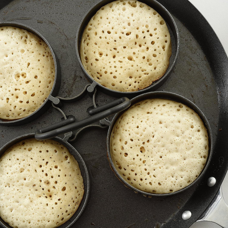 Norpro Nonstick Egg/Pancake Rings, 4 Piece Set 995