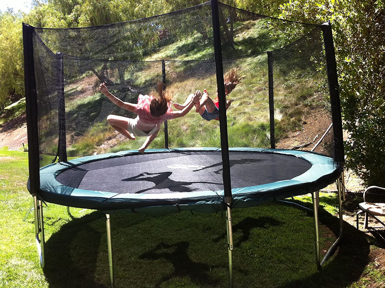 Galactic Xtreme Round Trampoline