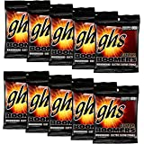 GHS Strings GHS Boomers Roundwound Electic Guitar Strings Extra Light GBXL 10 Pack (9-42)