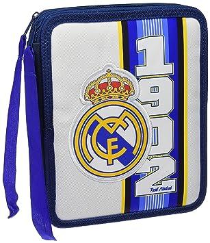 Real Madrid EP-262-RM - Plumier de 2 pisos: Amazon.es ...