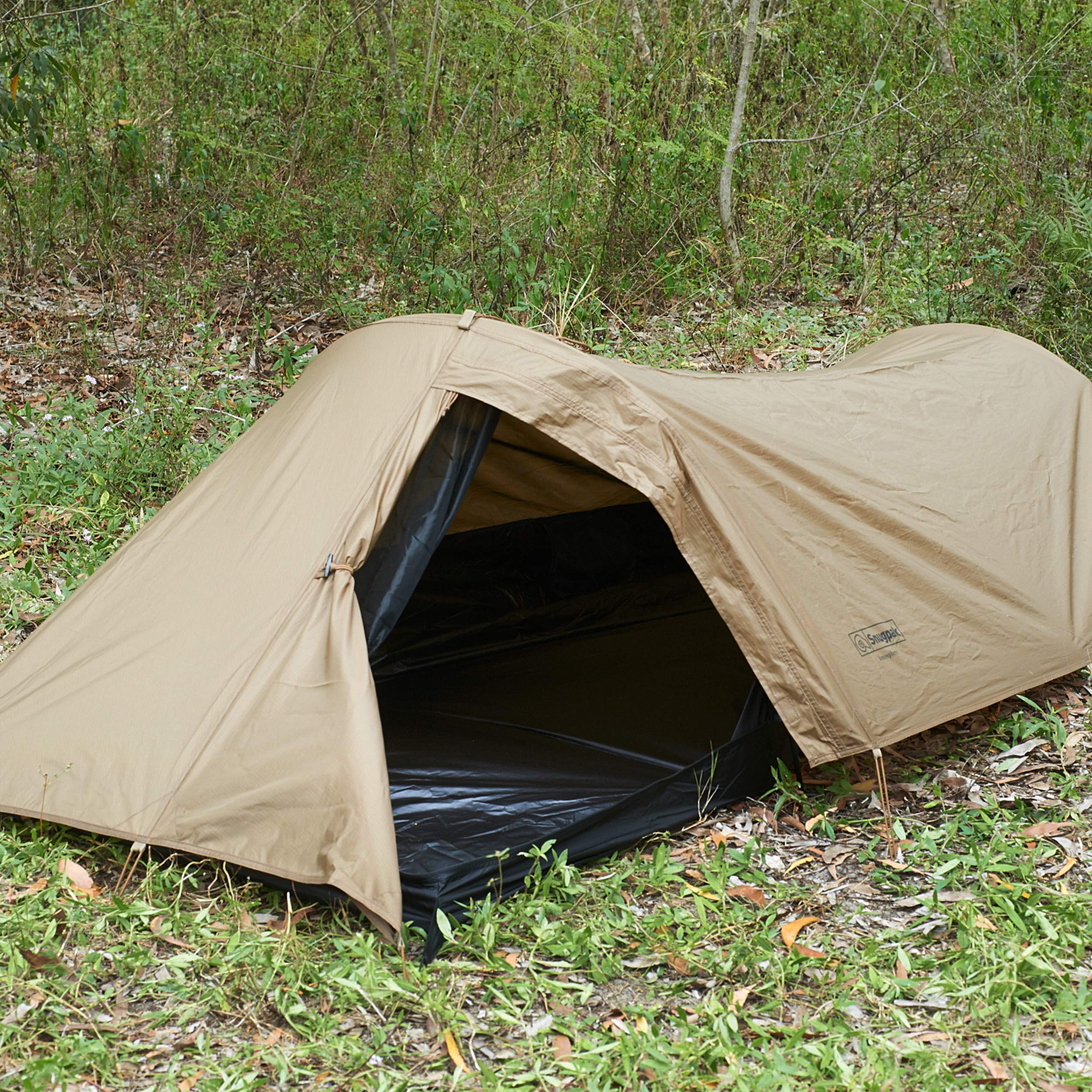 Snugpak Ionosphere 1 Person Tent, 94 inches x 35 inches x 28 inches, Waterproof Polyester and Nylon, Coyote Tan by Snugpak