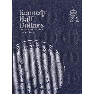 ISBN 0-307-09699-8 JFK KENNEDY HALF DOLLAR Whitman 1964-1985 No 9699 COIN; ALBUM, BINDER, BOARD, BOOK, CARD, COLLECTION, FOLDER, HOLDER, PAGE, PORTFOLIO, PUBLICATION, SET, VOLUME: Toys & Games