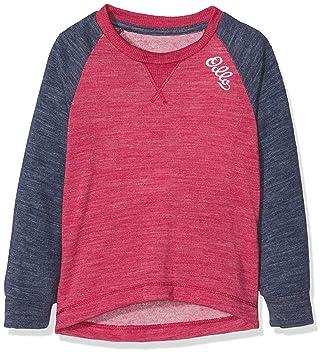 Odlo Shirt l/s Crew Neck Revolution TW Warm K Ropa Interior, Infantil,