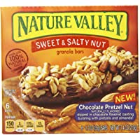 12Pk. Nature Valley Chocolate Pretzel Nut Sweet