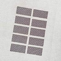"Rectangle Match Strikers 1.00"" x 2.00"" - Honeycomb Pattern"