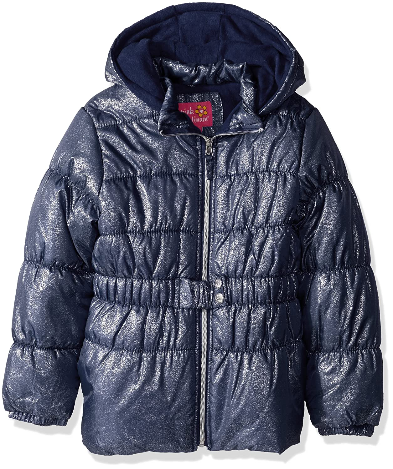Pink Platinum Girls' Hot Spray Foil Puffer 94500