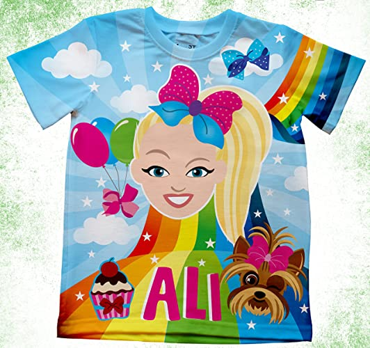 JOJO SIWA Birthday Shirt Custom Personalized Jojo Siwa T
