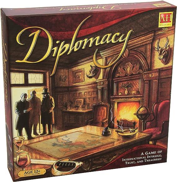 Milton Bradley Avalon Hill / Wizards of The Coast 22193 Diplomacy - Juego de Mesa sobre Estrategia Militar (edición Inglesa): Amazon.es: Juguetes y juegos