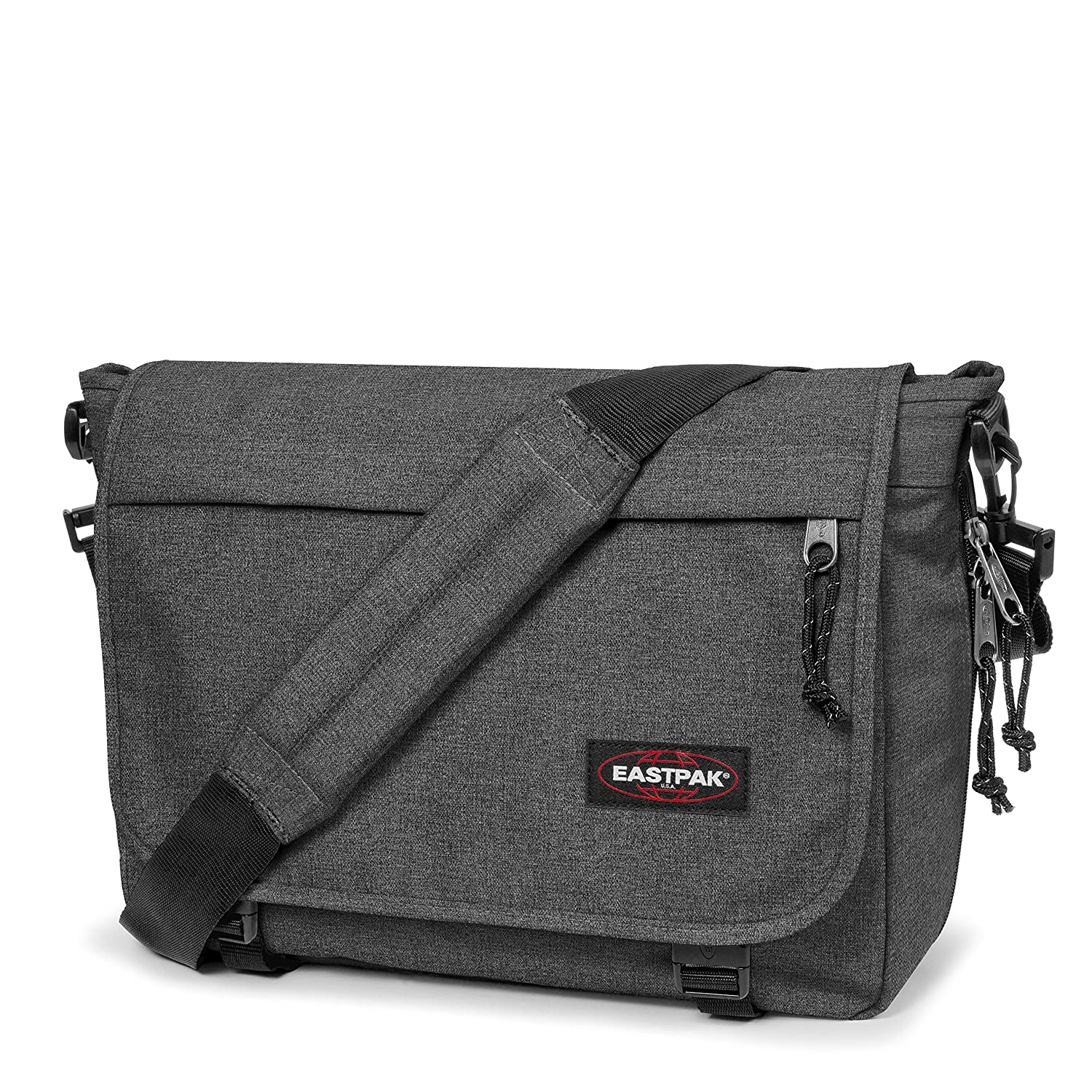 315a81dfee Amazon.com | Eastpak Delegate Messenger Bag, 39 cm, 20 L, Black (Black  Denim) | Messenger Bags