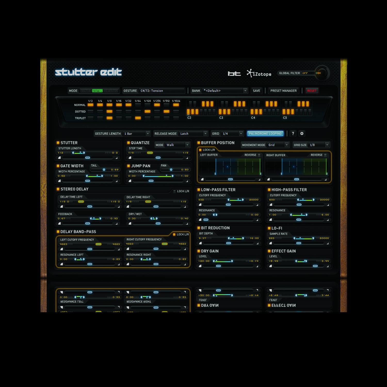 Stutter Edit: Live Remix Software, iZotope, Inc. [Online Code]