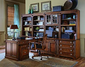 Hooker Furniture Brookhaven Lateral File in Clear Cherry