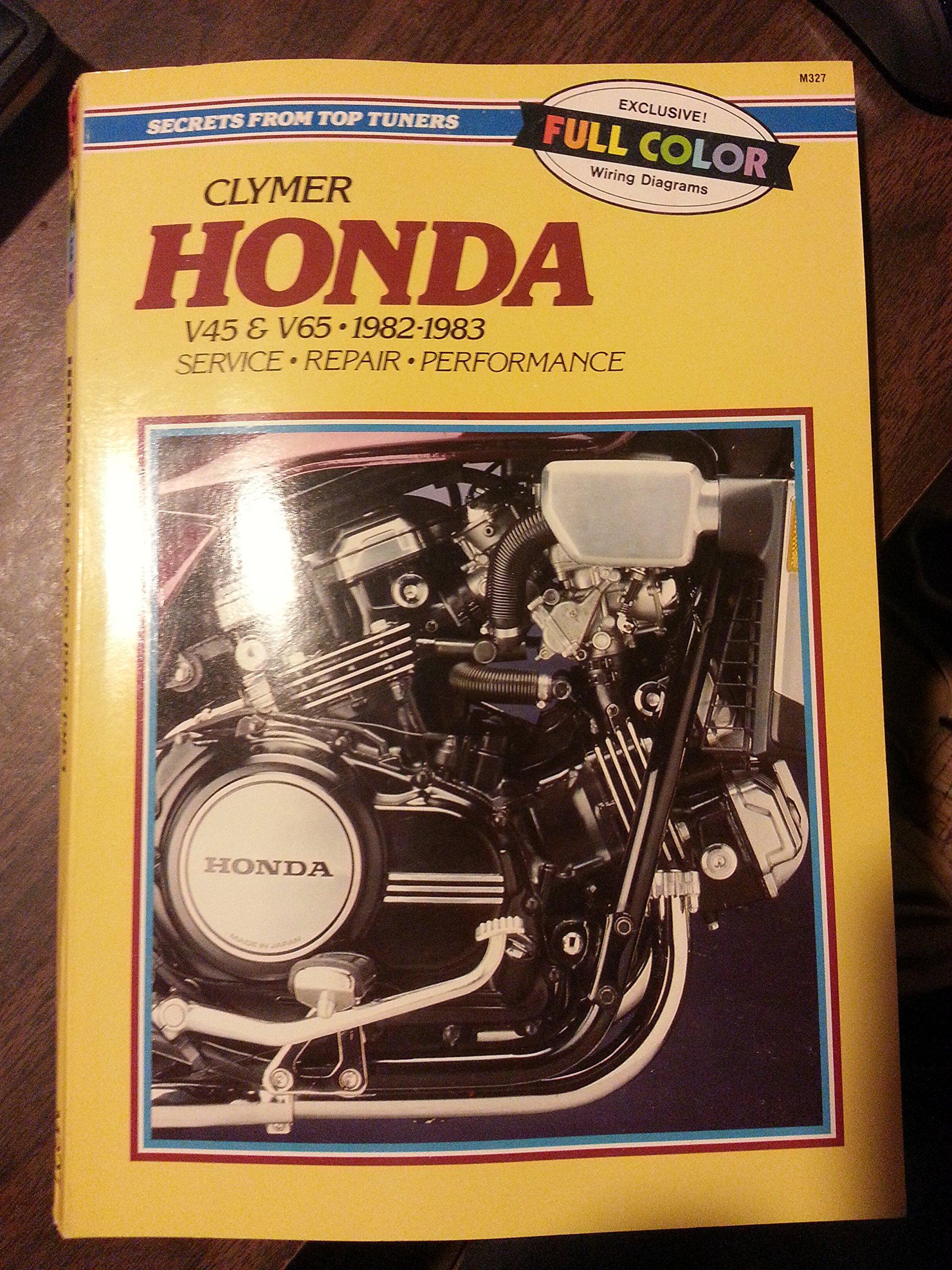 Honda: 700-1100cc V4 and V6, 1982-1987 (Service, Repair, Maintenance): Ed  Scott, Alan Ahlstrand, Sydnie A. Wauson: 9780892873845: Amazon.com: Books