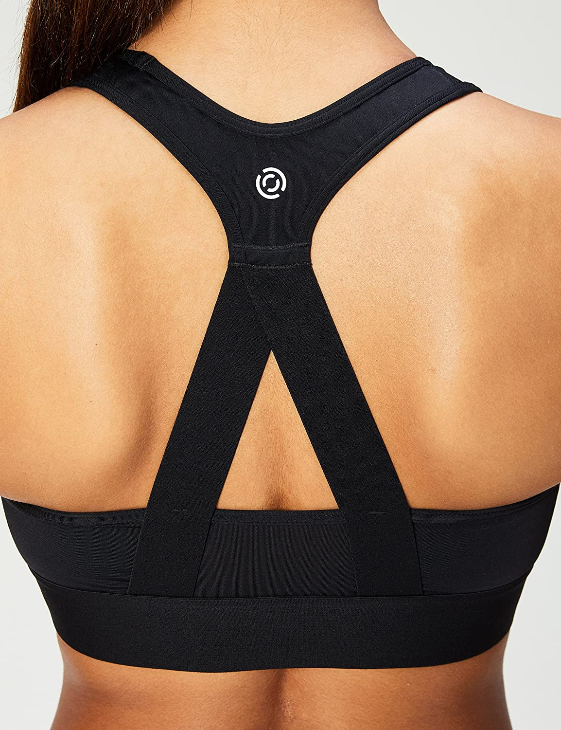 XS-3X Cross Back Sports Bra with Removable Cups Core 10 Womens Brand