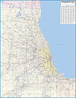 Chicago, Il 50 Mile (City Wall Maps): Kappa Map Group: 9780762527397 ...
